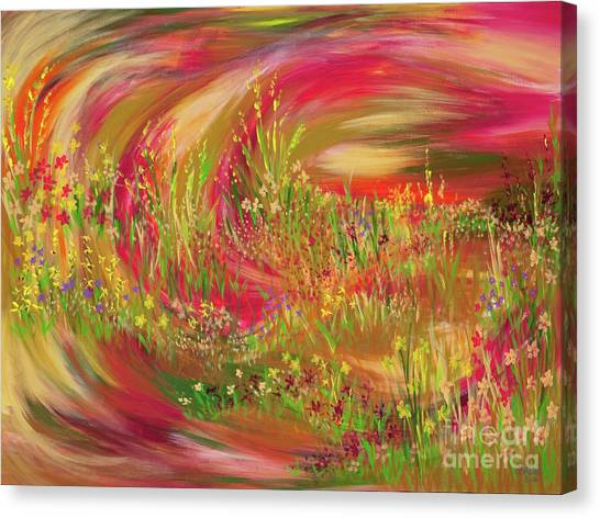 Joy Canvas Print by Lisa Bell