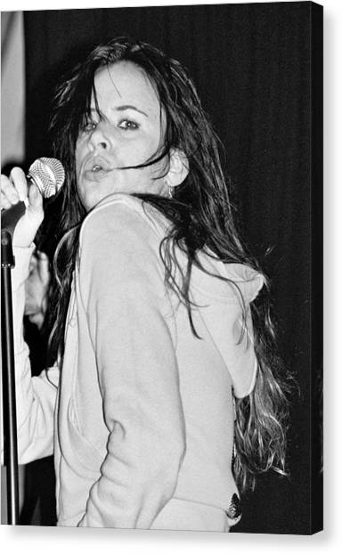 Juliette Lewis Canvas Print