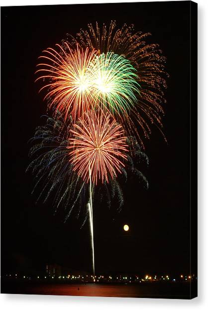 July 4 2012  5 Canvas Print