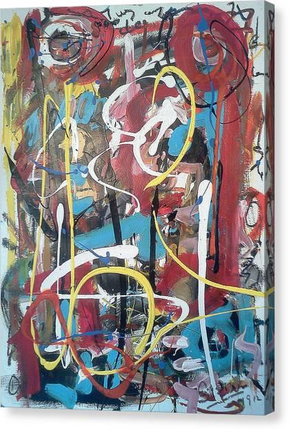 July 9 2012-1 Canvas Print by Gustavo Ramirez