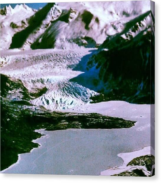 Glaciers Canvas Print - Juneau,ak by Dan Piraino