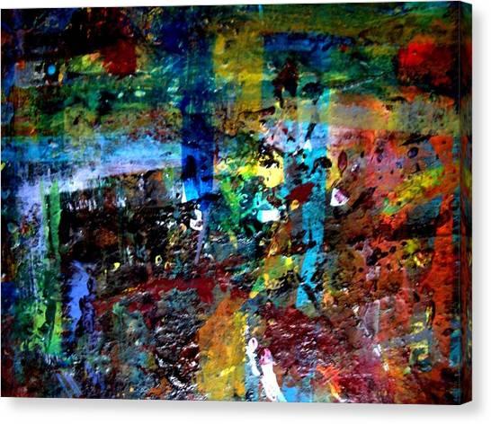 Jungle Boogie 120808-2 Canvas Print by Aquira Kusume