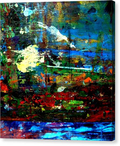 Jungle Boogie 120808-5 Canvas Print by Aquira Kusume