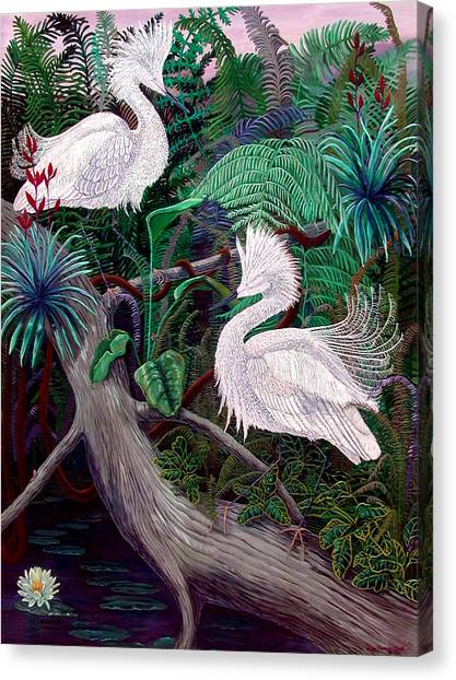 Amazon Canvas Print - Jungle Dance by Lyn Cook