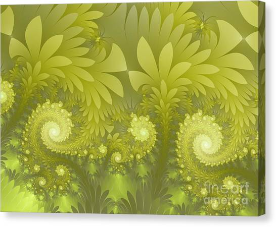 Jungle Green Canvas Print