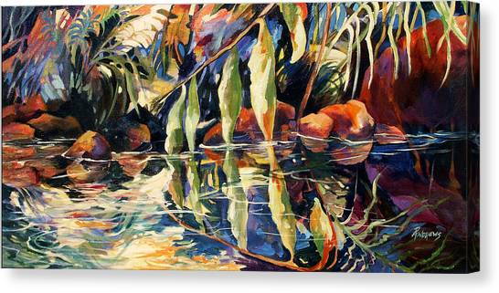 Jungle Reflections Canvas Print