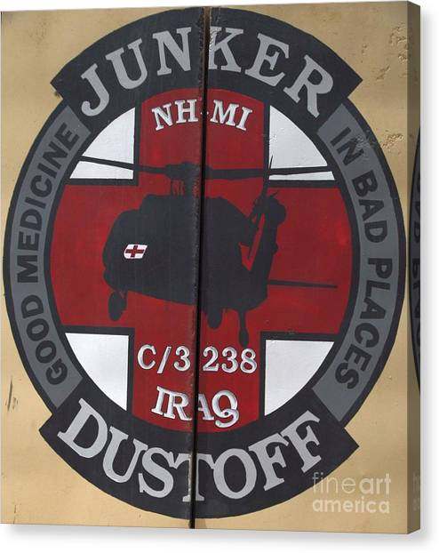 Junker Dustoff Canvas Print by Unknown