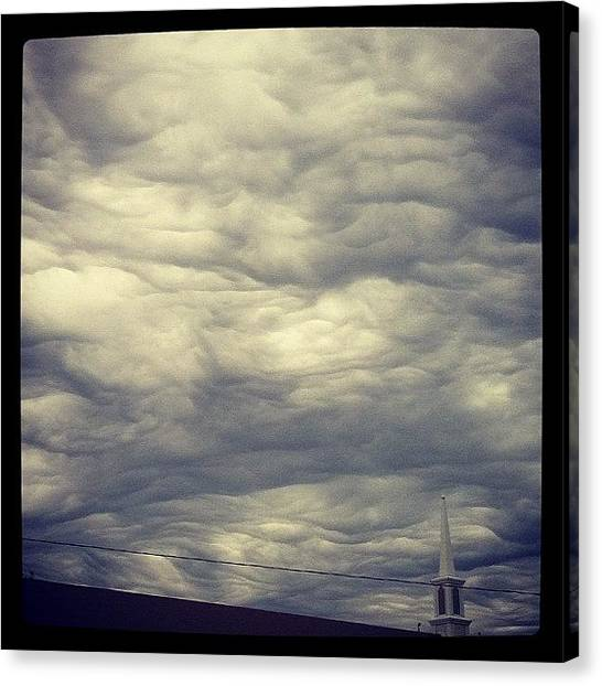 Jupiter Canvas Print - Jupiter Clouds by Kendra Portnova