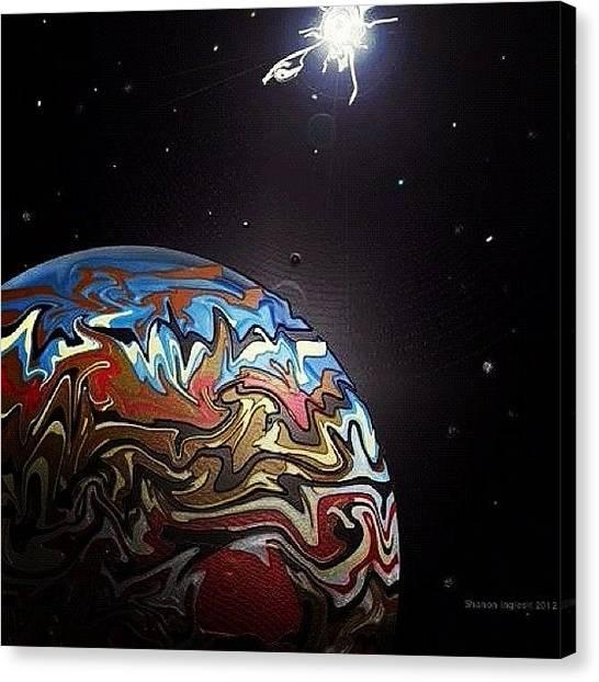 Jupiter Canvas Print - Jupiter by Rose Read
