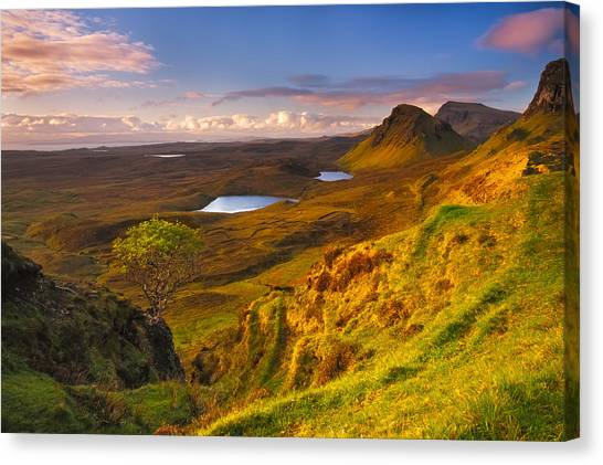 Jurrasic Sunrise Canvas Print
