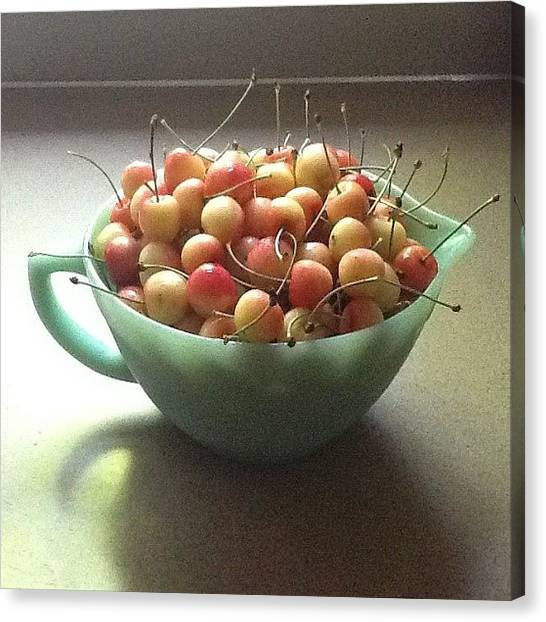 Queens Canvas Print - Just A Bowl Of Cherries by Kim Still