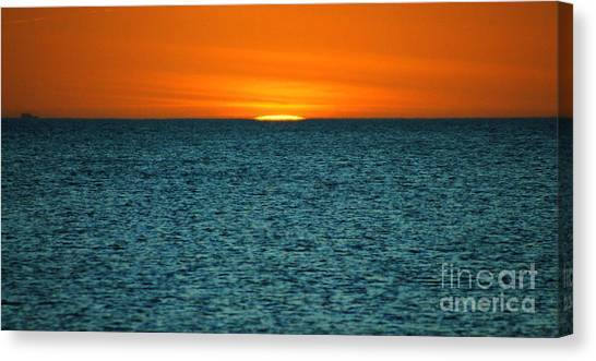 Just A Sliver Canvas Print