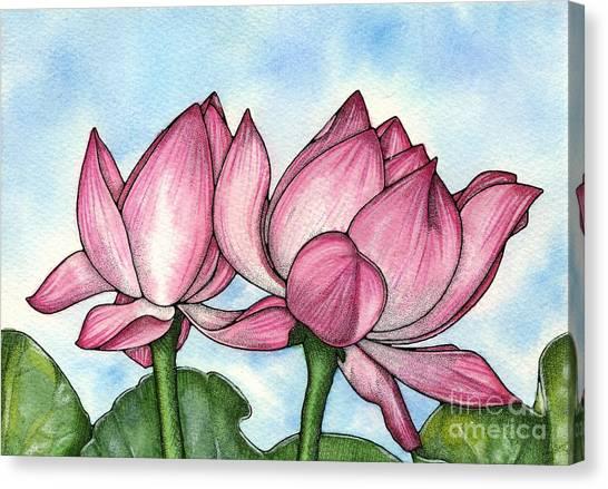 Just Breathe Canvas Print by Nora Blansett