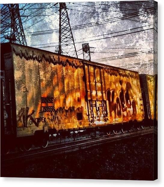 Locomotive Canvas Print - K Car ~ Corron Xtrillion #cx #xtrillion by Glen Campbell