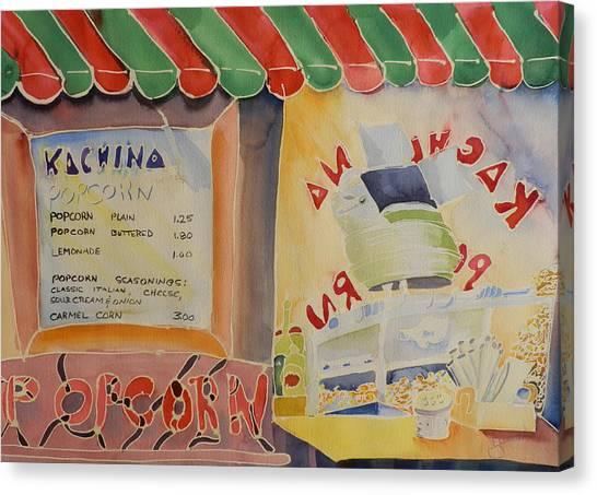 Kachina Popcorn Canvas Print