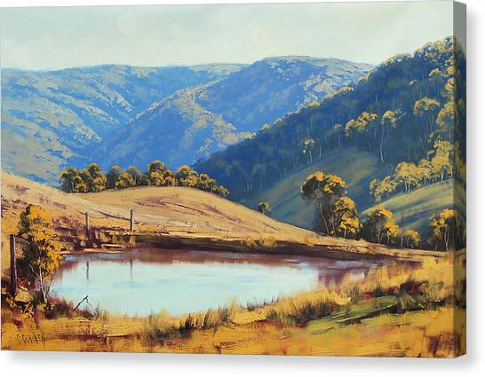 Australian Canvas Print - Kanimbla Valley Dam by Graham Gercken