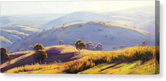 Kanimbla Valley Canvas Print by Graham Gercken