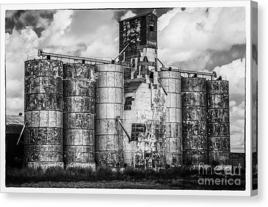 Kansas Grain Elevator Canvas Print