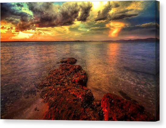 Karuah Sunset Canvas Print