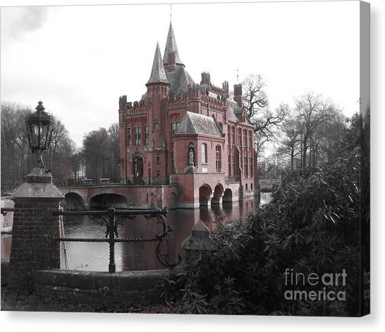 Kasteel Ten Berghe Canvas Print