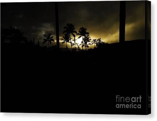Kauai Storm Sunset Canvas Print