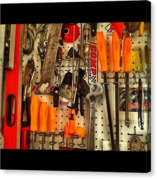 Screwdrivers Canvas Print - #keekthegeek #tools #tool #snapon by Ke-Ke Sayers