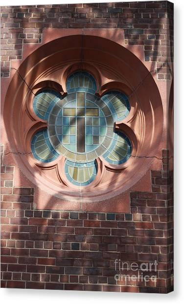 Keep The Faith Canvas Print by Ted Wheaton