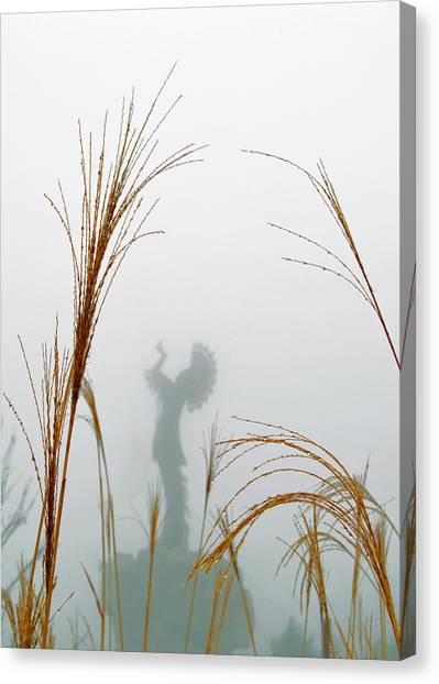 Keeper Of The Fog Canvas Print