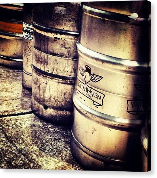 Keg Canvas Print - #kegs by Keith L