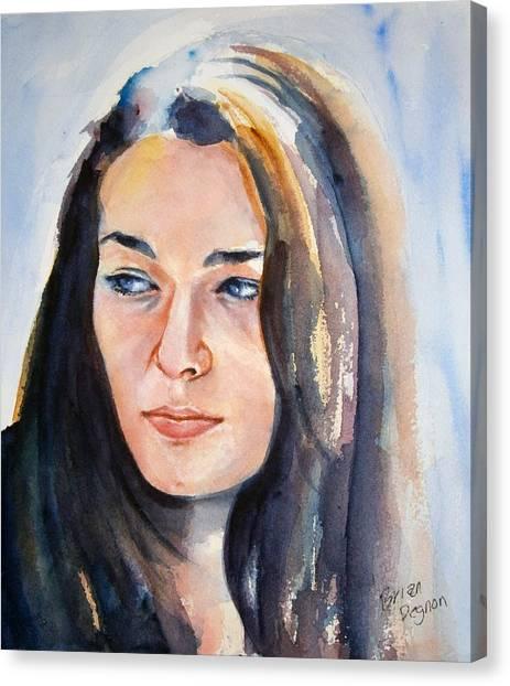 Kelsey Canvas Print by Brian Degnon