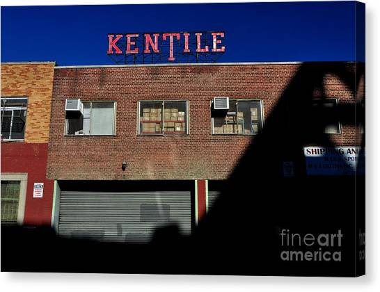 Kentile Factory Canvas Print
