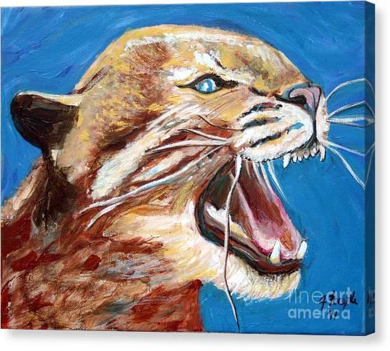 Kentucky Wildcat Canvas Print
