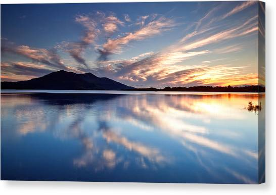 Kerry Reflections Canvas Print by Brendan O Neill