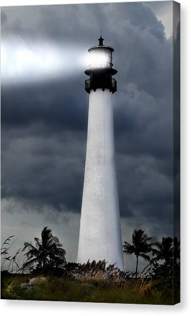 Key Biscayne Lighthouse Canvas Print