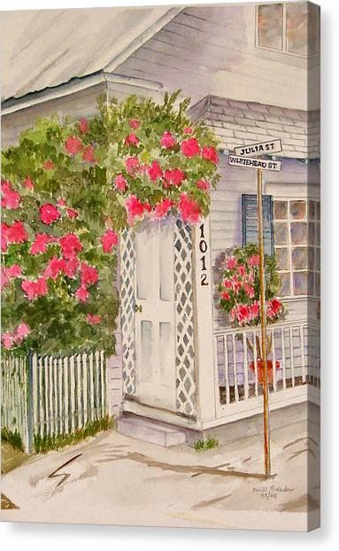 Key West Home Canvas Print