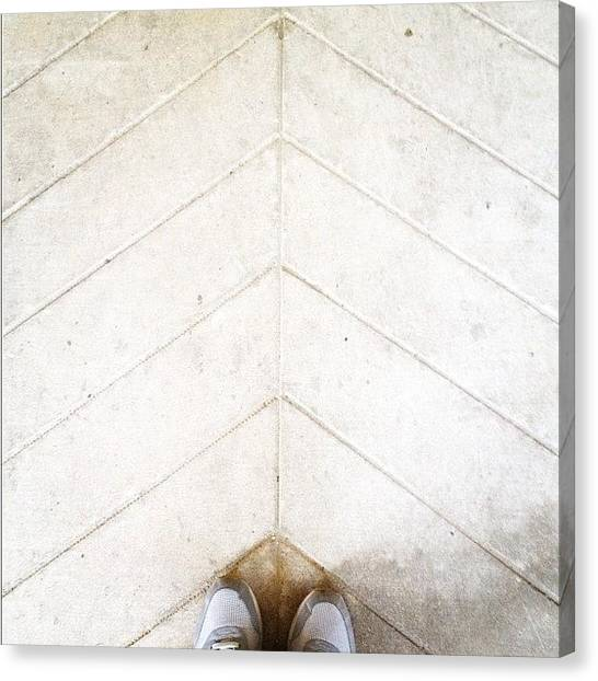 Triangles Canvas Print - Kicks Of The Day. #kicksoftheday #kicks by Gabriel Kang