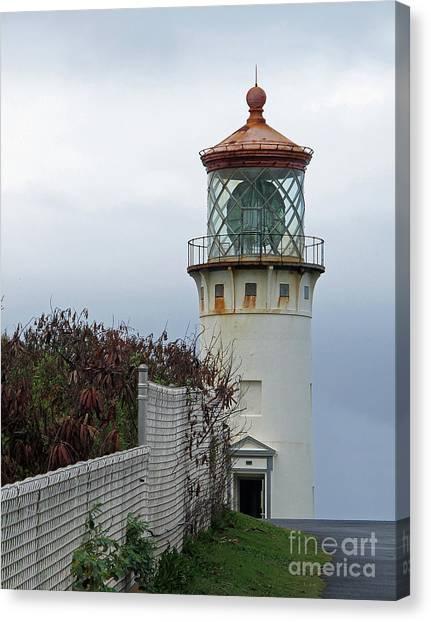 Kilauea Lighthouse  Kauai Canvas Print