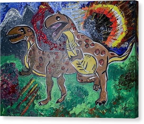King Di-nojoel Canvas Print