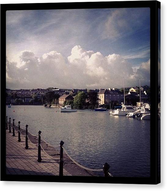 Ireland Canvas Print - #kinsale #kinsaleharbour #clouds by Conor Duffy