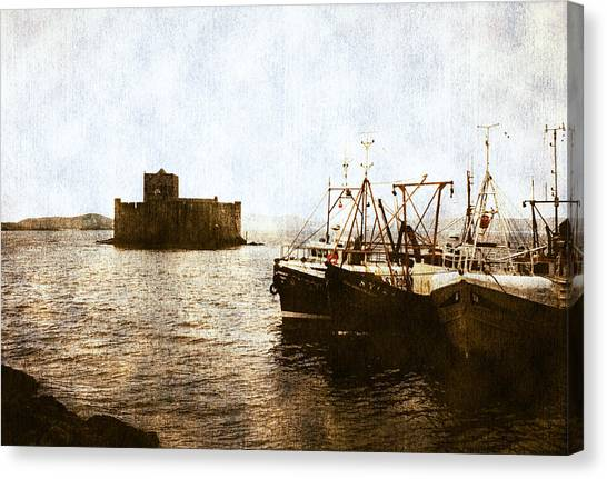 Kisimul Castle Scotland Canvas Print