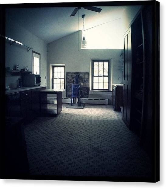 Farmhouse Canvas Print - Kitchen by Jeff Koromi