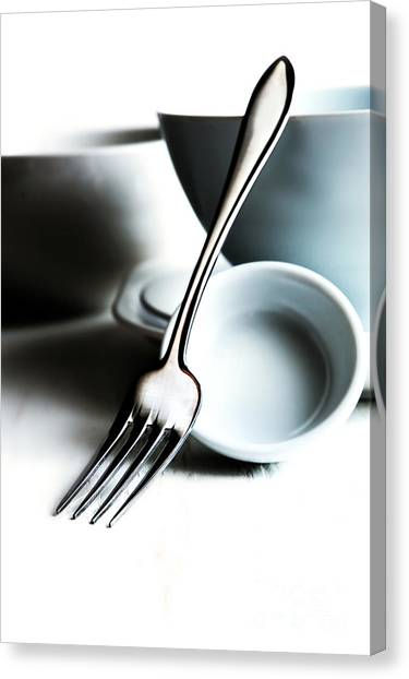 Kitchen Still Life Canvas Print by HD Connelly