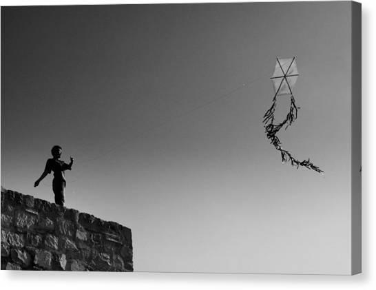 Kite-2 Canvas Print