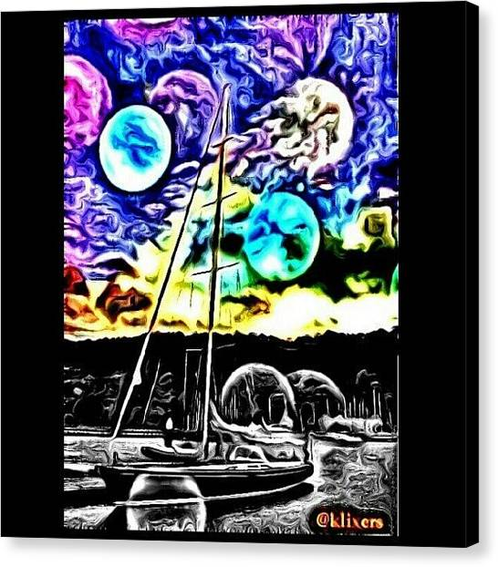 Droid Canvas Print - #klix_weeklychallenge_week16 Photo By by Bill Maxwell