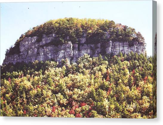 Knob Mountain Canvas Print