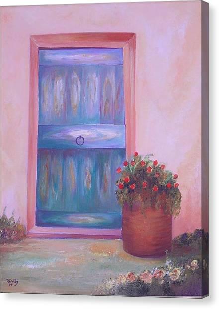 Knock Knock Canvas Print by Nabil Wehbe