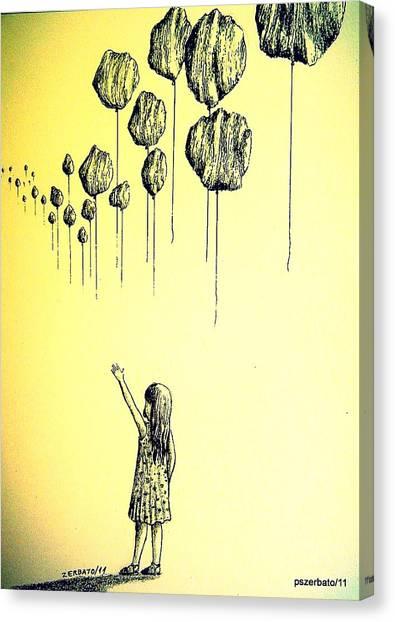 Knowledge Without Wisdom I Canvas Print by Paulo Zerbato