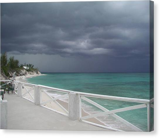 Kokomo Thunderstorm Canvas Print by Michael Picco