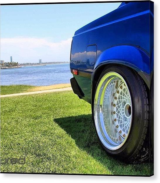 Toyota Canvas Print - #kounterkultured #toyota #importtuner by Kounterkultured Allende