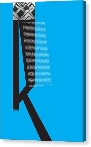 Philosophy Canvas Print - Kurosawa Poster by Naxart Studio